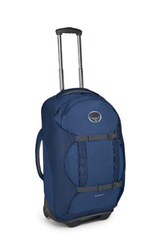 B006P674ZC Osprey Sojourn Wheeled Luggage (25-Inch/60 Liter, Steel Blue)