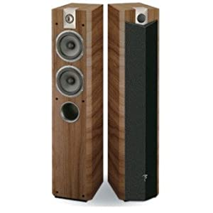 Focal 714V Floorstanding Speakers - Havana - Pair