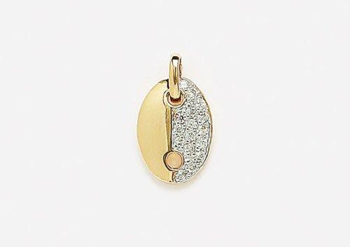 Nadejo P65127 Pendant Gold Plated St Valentin