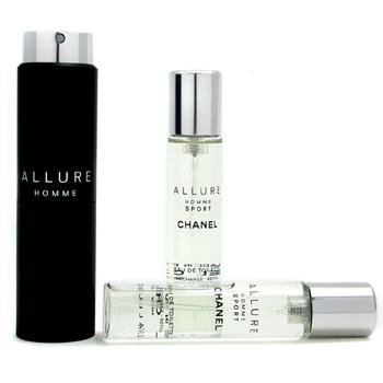 [Chanel] viajes Allure Homme Sport establecido 20 ml × 3 (importaciones paralelas) [- 0 - productos para el cuidado de salud]