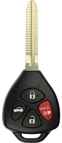 KeylessOption Keyless Entry Remote Control Car Key Fob Replacement for HYQ12BBY