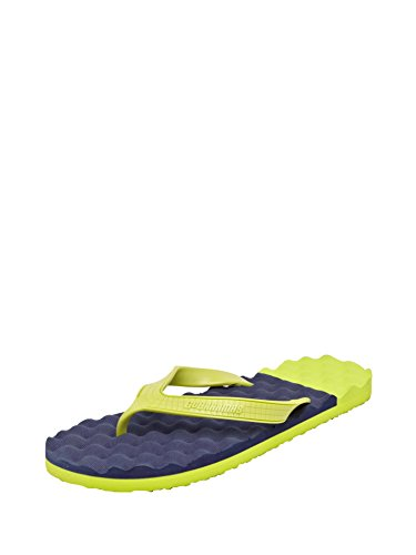 Go Bahamas GO BAHAMAS Men Synthetic Lemon FLATS (Yellow)