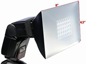 ePhoto 45quot x 8quot New Universal Foldable Soft Box Flash Diffuser for Most Camera SL Ramp DSL RFl