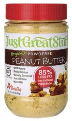 Betty Lou's Just Great Powdered Peanut Butter, 6.35-Ounce Jar