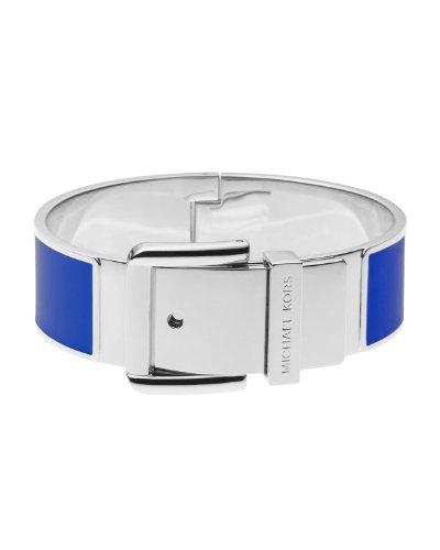 Michael Kors Enamel Blue Buckle Bangle Bracelet Mkj2875040
