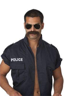 California Disfraces de Policía de El Bigote Hombre