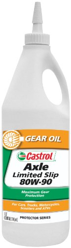 Castrol Axle Limited Slip Gear Oil - 80W-90 - 1 Liter 12612 (Gear Oil 80 compare prices)