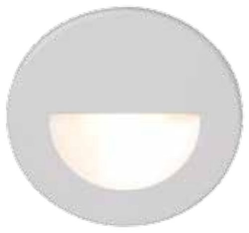 Wac Lighting Wl-Led300-C-Bn Led Step Light Circular Scoop Color: Brushed Nickel Outdoor/Garden/Yard Maintenance (Patio & Lawn Upkeep)