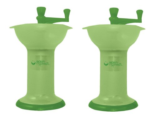 Green Sprouts Baby Food Mill, Green (Pack of 2)