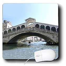 Vacation Spots - Rialto Bridge - Mouse Pads