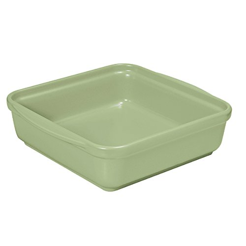 French Home 8-inch Sage Green Square Baking Dish