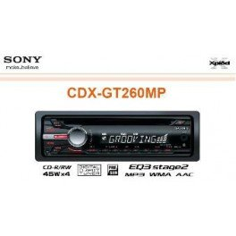 Peugeot - Autoradio Cd Sony - Cdx Gt 260