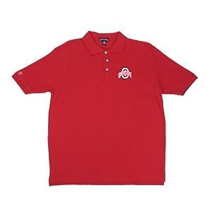 NCAA Ohio State University Classic Pique Polo Shirt by Antigua