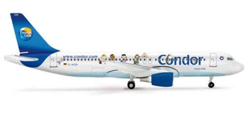 """Herpa 1/400 : Condor Airbus A320 """"Peanuts"""""""