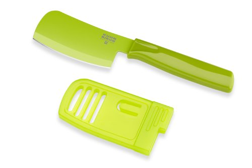 Kuhn Rikon Original Mini Prep Knife Colori 3-Inch Blade, Green