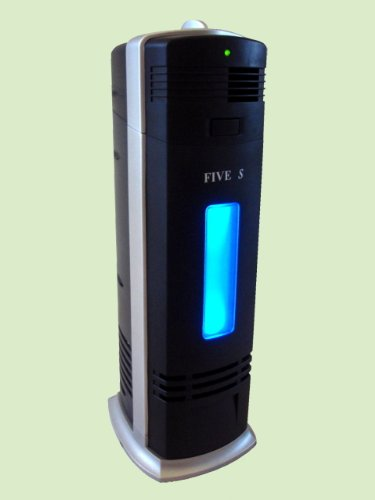 FIVE STAR FS8088 Ionic Air Purifier Pro Ionizer Cleaner with UV, new