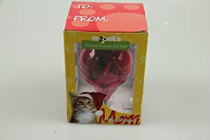 M2Pets Christmas Ornament Gift Ball for Your Cat or Kitty