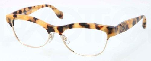 Miu MiuMiu Miu Eyeglasses VMU 05M Tortoise PC8-1O1