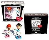 I Love Lucy & Desi Stick Figure Bobblehead Doll Set
