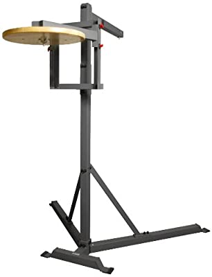 Xmark Full Commercial Heavy Bag Stand with Speed Bag Platform