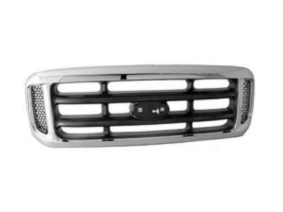 2 NEW set of F250 Super Duty LARIAT Side Fender Emblems Chrome 05-07 PAIR