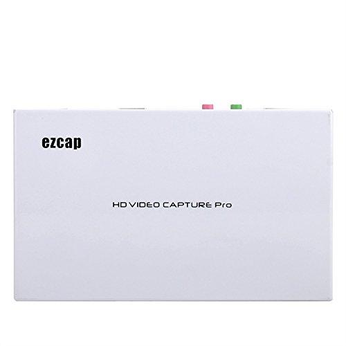 EzCAP ezcap291HDMI AV YpbPr Registratore di gioco, 1080p HD video TV con funzione di riproduzione, Capture Video da WiiU Xbox 360Xbox One