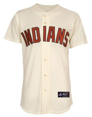 MLB Asdrubal Cabrera Cleveland Indians #13 Majestic Replica Jersey - Natural by Majestic