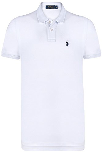 ralph-lauren-polo-para-hombre-slim-fit-short-sleeves-blanco-con-pony-azul-pequeno-white-xl