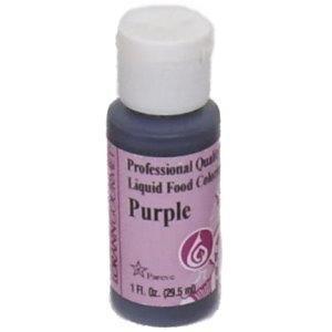 food coloring purple