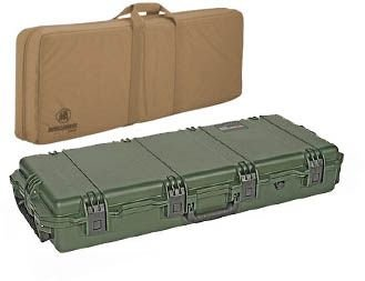 Pelican Storm Cases IM3200 Case, OD Green w/Coyote Tan Field