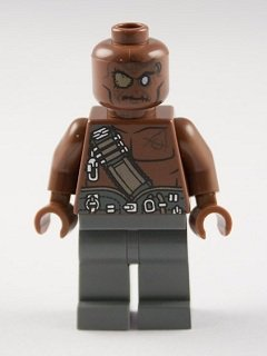 Lego Pirates Of The Caribbean: Gunner Zombie Minifigure - 1