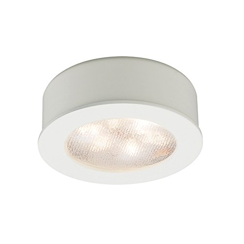 Wac Lighting Hr-Led87-Wt Led Round Button Lights 3000K