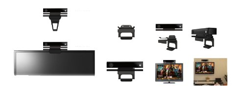 ORB Kinect Camera TV Clip/Wall Mount  galerija