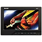 Marshall 7″ Portable Camera-Top LCD Field Monitor with Canon LP-E6 Battery Plate/ Battery/ Charger, 16:9 Aspect Ratio, 400 cd/m2 Brightness Top Price