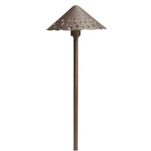 Kichler Lighting 15871Bbr Hammered Roof Led Pathway Light