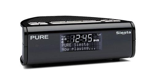 Pure Siesta Radiowecker (DAB/DAB+/UKW-Tuner) schwarz
