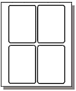 compulabel 312524 shipping label 3 1 2 x 5 4 per sheet use avery 5168. Black Bedroom Furniture Sets. Home Design Ideas