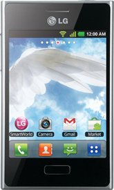 LG Optimus L3 E400 Unlocked GSM Phone with Android 2.3 OS, Touchscreen, 3.15MP Camera, GPS, Wi-Fi, Bluetooth and microSD