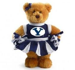 Byu Brigham Young University Cheerleader 8 Inch