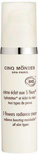 CINQMONDES 5フラワーラディアンスクリーム 50ml 保湿用クリーム