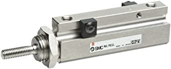 SMC NCJP Series  Pin Air Cylinder, Compact, Double Acting, Basic Style Mounting, Switch Ready, Cushioned