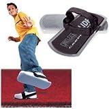 Simtec Fun Slides Carpet Skates - Silver ~ PlaSmart