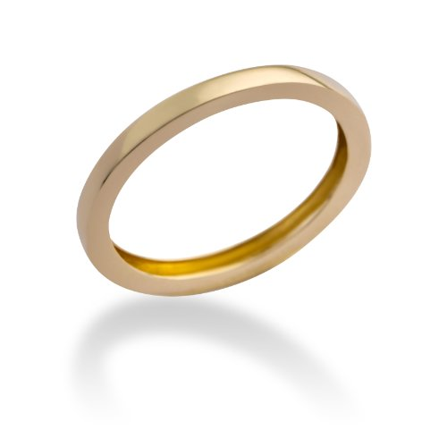 Miore - MP9099RO54 - Bague Femme Or Jaune 375/1000 (9 carats) 1.1 gr - T 54