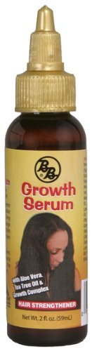 Bronner Brothers Growth Serum Hair Strenghtener [12 Pieces] *** Product Description: Bronner Brothers Growth Serum Hair Strenghtener. Stimulates Roots To Promote Growth. Contains Aloe Vera, Tea Tree Oil And Growth Complex. 2 Oz. ***
