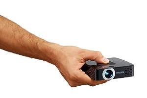 Philips Picopix PPX2495/F7 Pico Projector, 100 Lumens, 10.3 Oz, HDMI