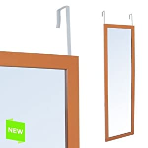 Miroir accrocher porte orange 30x120 cm for Miroir 30x120