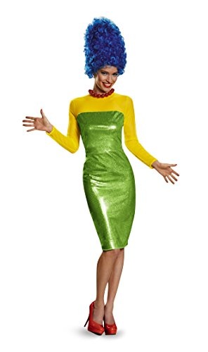 Disguise Women's Marge Deluxe Adult Costume, Multi, Large