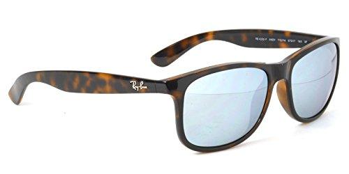 【Ray-Ban国内正規品販売認定店】RB4202F 710/Y4 57サイズ Ray-Ban (レイバン) サングラス ANDY POLARIZED FLASH アンディ フルフィッティングモデル ミラー 偏光サングラス メンズ レディース
