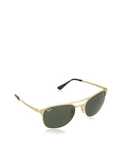 Ray-Ban Sonnenbrille 3429M _001 (58 mm) goldfarben/grün
