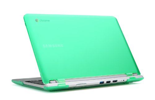 mcover-hard-shell-case-for-116-samsung-chromebook-116-xe303c12-series-wi-fi-or-3g-laptop-green